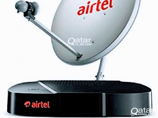 ALL KINDS OF SATELLITES DISH RECEIVER SALE & AIRTEL HD RECEIVER SALE & INSTALLATION 33083167