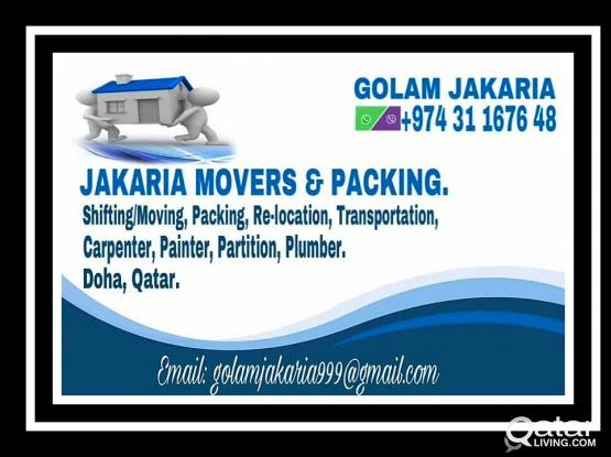 Movers and packers. Call : 311 67 648