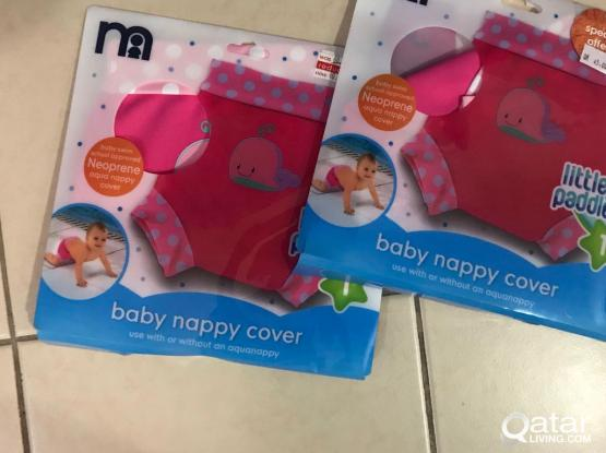 Baby nappy covers x2
