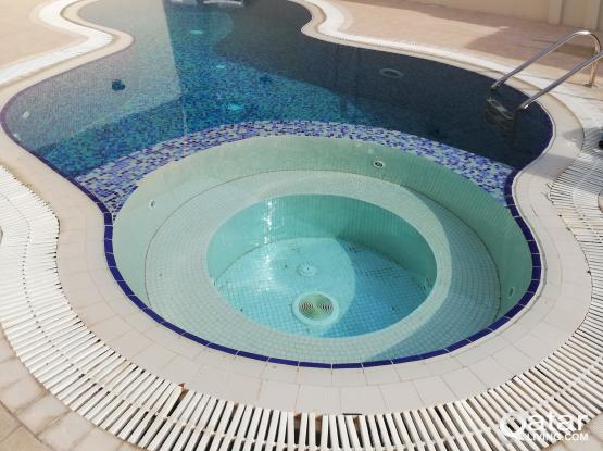 Galib swimming pool cleaning