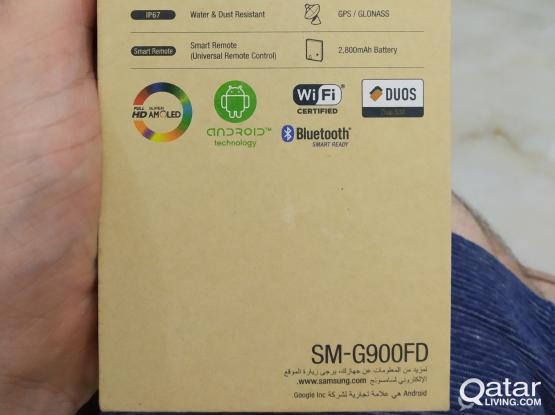 Samsung S5 dual SIM blue color