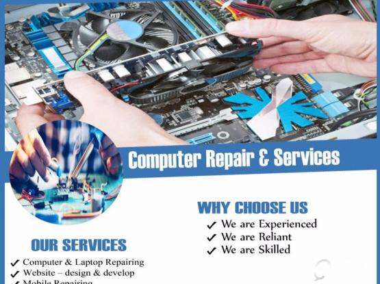 IT SERVICES AT YOUR DOOR STEP 77616165 &  REPAIR