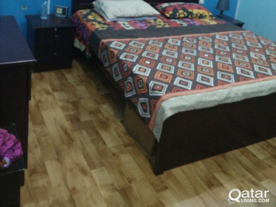 Elegant king size bedroom set custom made
