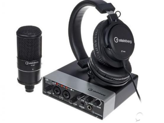 Steinberg UR22 MK2 Recording Pack | 2-Channel USB 2.0 Audio Interface | Brandnew sealed unopened box