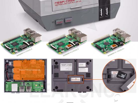NESPi Retro gaming console using Raspberry Pi