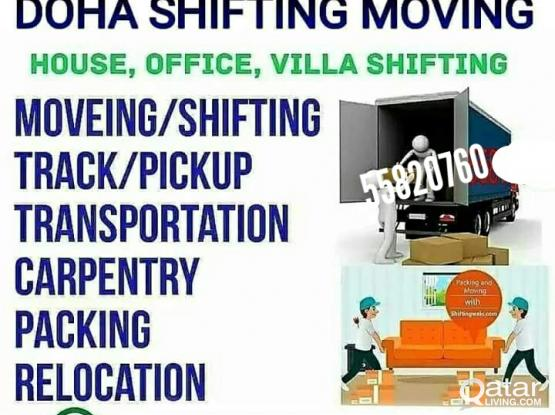 call&whatsapp 55820760 (Best price)Moving Shifting Packing Transportation Relocation Carpentry Service