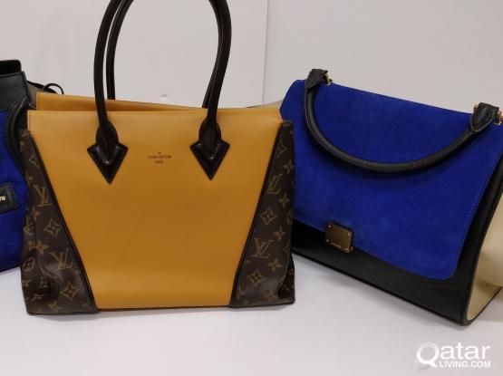 AUTHENTIC Céline AND Louis Vuitton BagS