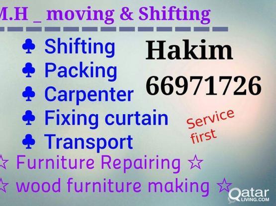 Shifting ,Carpenter, Packing ,,TRUCK & PICK UP - - 66971726