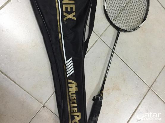 3 Badminton Racket (Leaving Qatar for good)