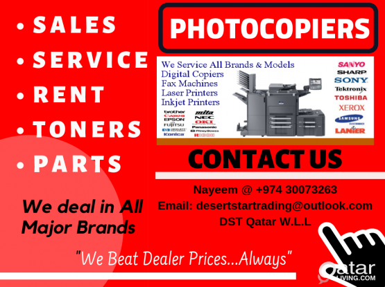 Photocopiers Service Repairs and Spare Parts.