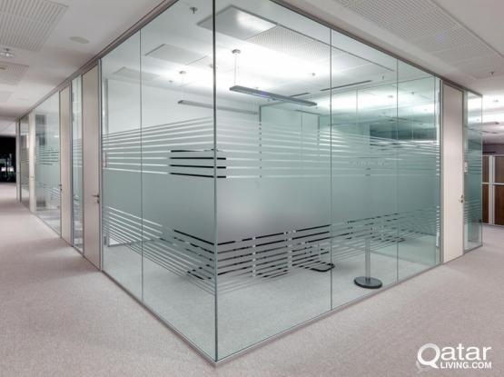 Glass Sticker Design Supply & Installation Services.