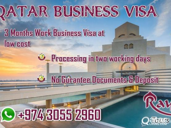 Qatar Business visa low cost.