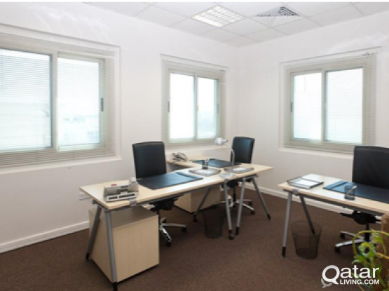CO WORKING SPACE PRIME LOCATION D RING HIGH END OFFICES - QFC APPROVED