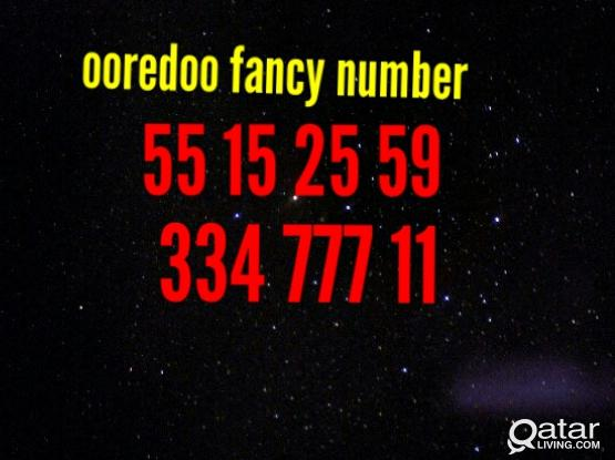 OOREDOO FANCY NUMBER