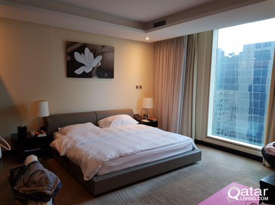 Kempinski Master Bedroom -avail December and January