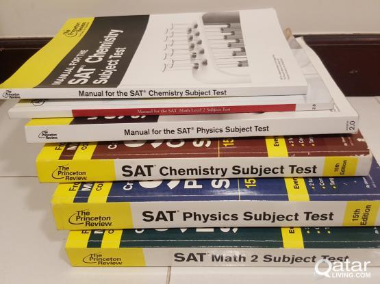 SAT 2 Subject Test Books