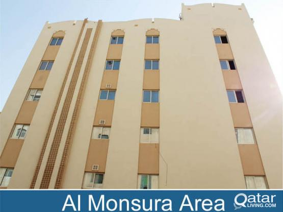 Call Now Yearly contract-Excellent Spacious Modern 2BHK Apartment For Exicutive Bachelore in Al Mansoura-including water & electricity