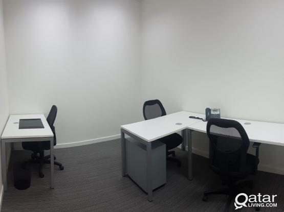 HIGH END MUNTAZAH OFFICE COMPLETE WITH FACILITIES, WITH PRO SERVICES IF REQUIRED