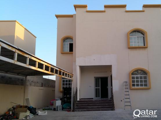Villa Portion 1BHK At Bu Hamour for Familys