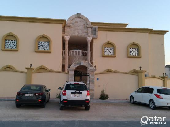 Villa Portion 1BHK At Abu Hamour for Familys