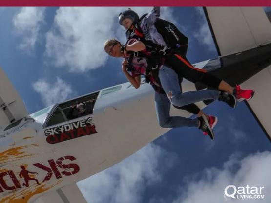 Discounted two skydiving tickets!! 2700 only