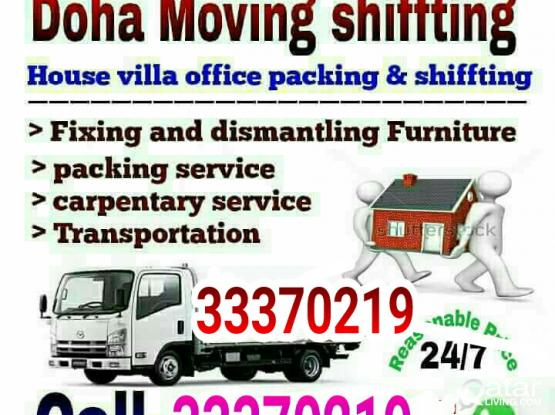 Best Price, Call- 77857240-House, Villa,Room & Office Shifting  Furniture Dismantling and Fixing-66559254