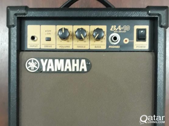 YAMAHA BA-10 (practice Bass Amp)