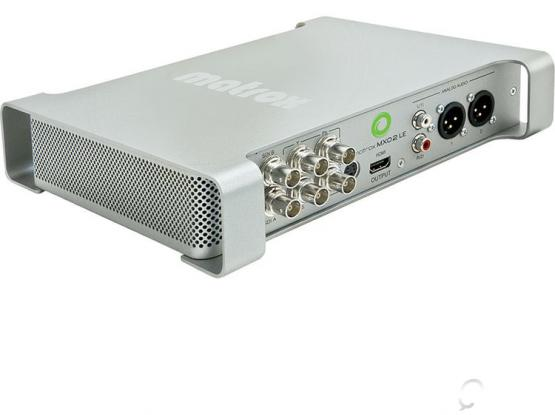 Matrox MXO2 LE with Max for Desktop, Audio & Video Support, PC and Mac Compatible