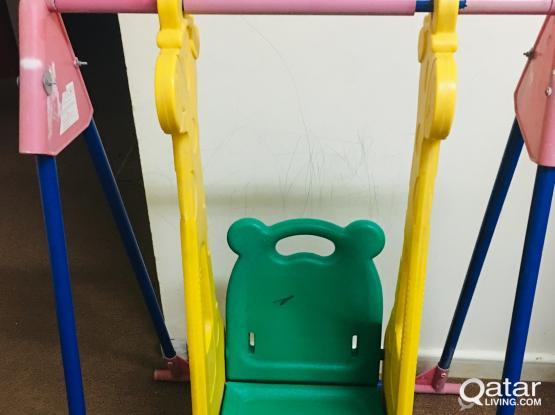 Babies swinging frame good condition.