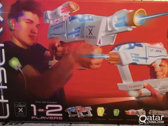 Laser X Fusion Blaster Kit. Brand New, Never Opened!!