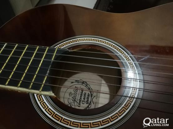 Guitar جيتار ( classic ) because of traveling