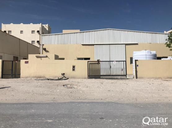 Industrial Area 48 rooms and 450 SQR store for rent street 44