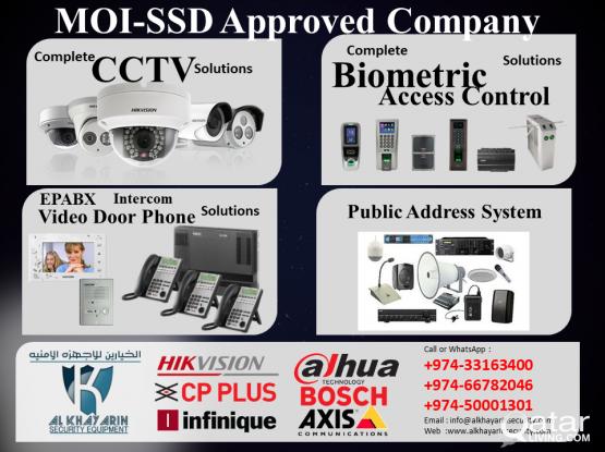 CCTV/Biomatric/Access Control/Video Door Bell