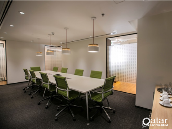 HIGH END COWORKING SPACE IN THE PEARL WITH AMAZING FACILITIES INCLUDED - LIMITED AVAILABILITY