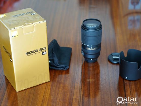 Nikon AF-P Nikkor 70-300mm f/4.5-5.6E ED VR FX