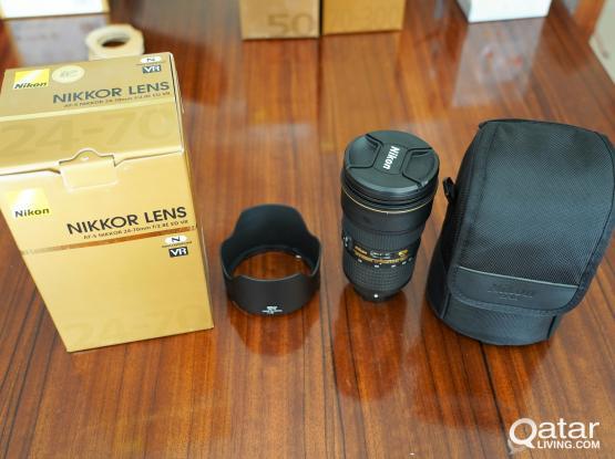 Nikon AF-S Nikkor 24-70 f/2.8E ED VR