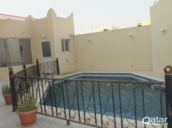 Stand Alone 6BHK Villa + Swim Pool  In Ain Khalid For Rent