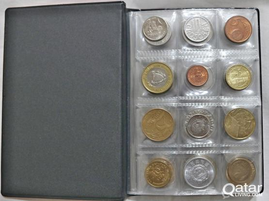World coins collections album of 46 countries for gift