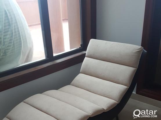 Furniture, office chair, shelf, entertainment unit, desk