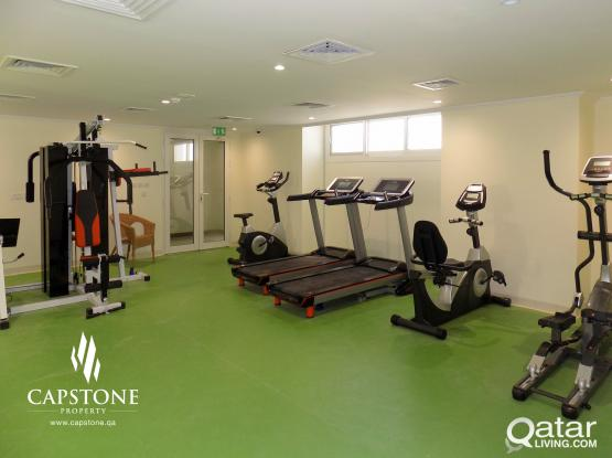 Free One Month!! One-Bedroom Apartment in Lusail + Amenities
