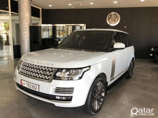 Land Rover Range Rover Vogue Autobiography 2016