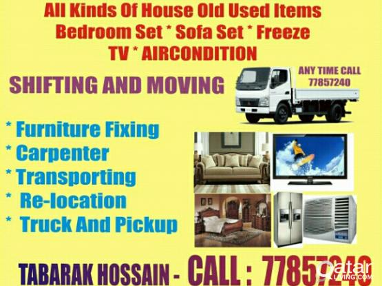 Best Price Call-77857240-Home,Villa Office Furniture Moving Fixing, Carpenter, Transport.