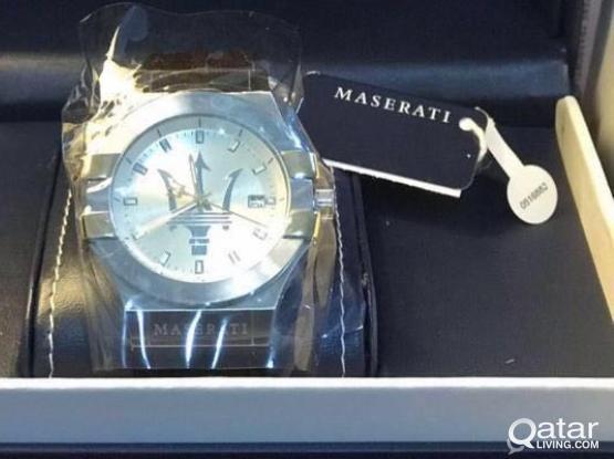 Maserati Watch Potenza Yellow Gold