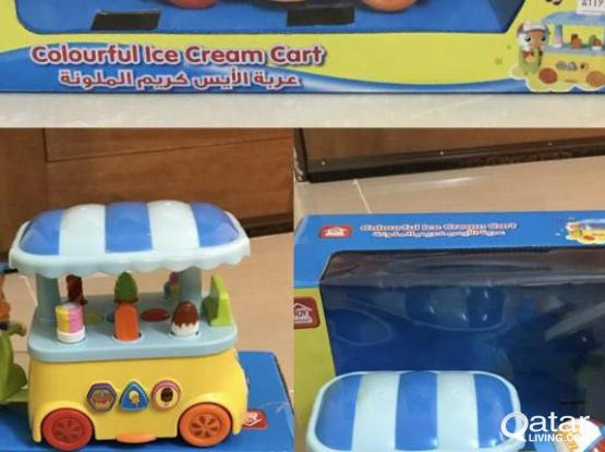 toys for kids and stroller
