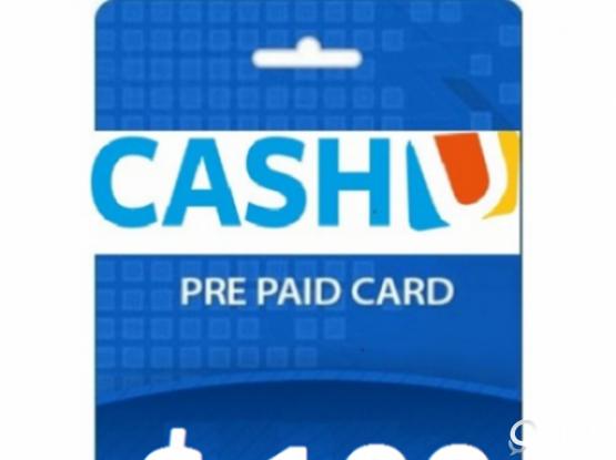 Cash U credit for sale $100 for QR 365