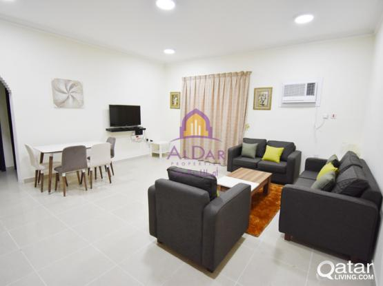 No Commission - Beautiful Spacious Furnished Two Bedrooms in Al Mansoura