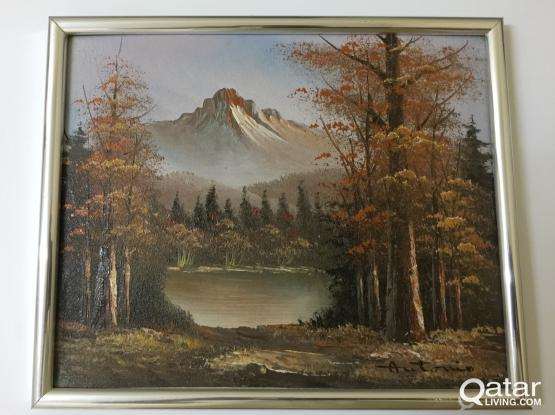 2 # Beautiful oil paintings on canvas by Italian artists