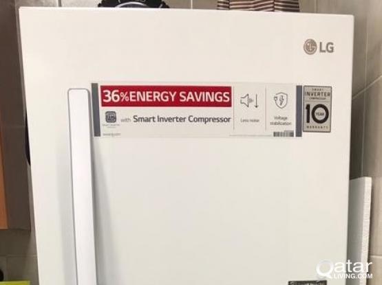 LG 420 Liters Top Mount Refrigerator - GR-B422RLHL