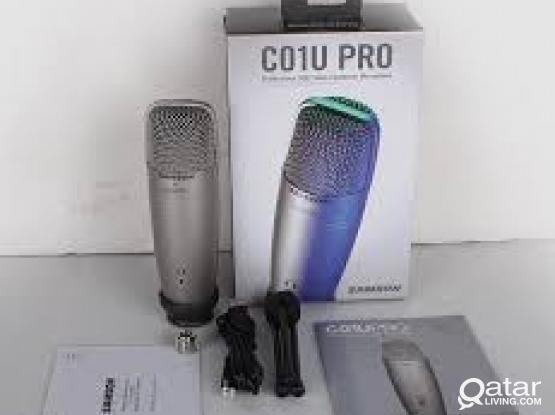 Original SAMSON C01U Pro USB Studio