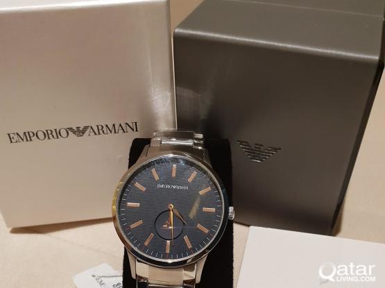 Male Emporio Armani Watch